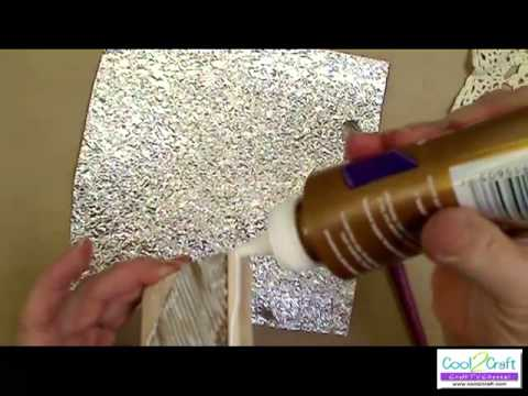 How to make look of forged metal with aluminum foil by for Create and craft tv reviews