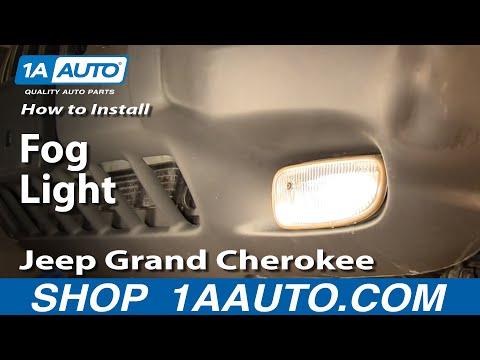 How To Install Replace Fog Light Jeep Grand Cherokee 99-04 1AAuto.com