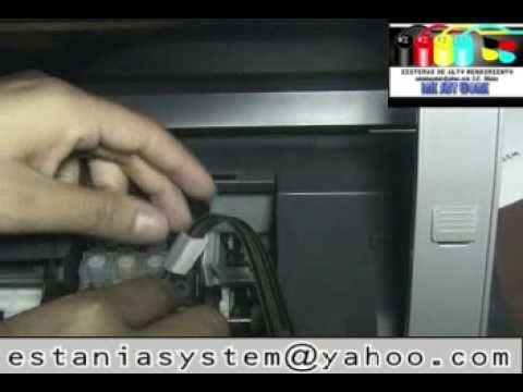 Sistema de Tinta Epson TX110 TX100