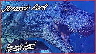 Jurassic Park - FAN-MADE Games!