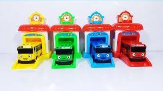 Đồ Chơi Nhà Xe Bus Tayo Garage Car Toys For Kids