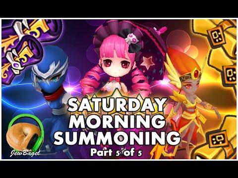 SUMMONERS WAR : Saturday Morning Summons - 300+ Mystical & Legendary Scrolls - (5/21/16 part 5 of 5)