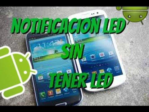 Notificaciones LED sin tener LED en Android