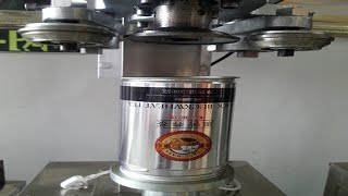 metal cans beers container electric sealing machine semi automatic Stainless steel sealer 電動封罐機