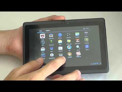 Gpad G7 Allwinner A13 processor 7 inch Capacitive Android 4.0 OS Review by cartgoo.com