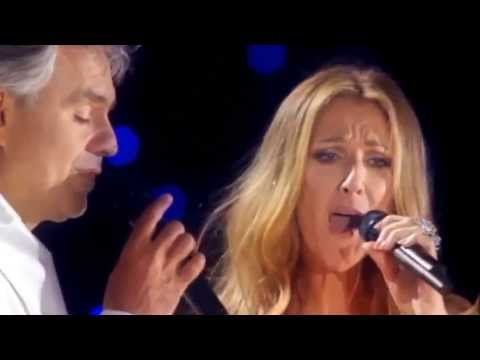 Celine Dion & Andrea Bocelli - The Prayer (Live) Lyrics & HD