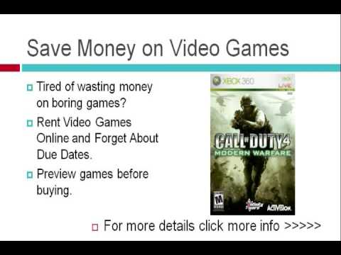 Free Video Game Rentals