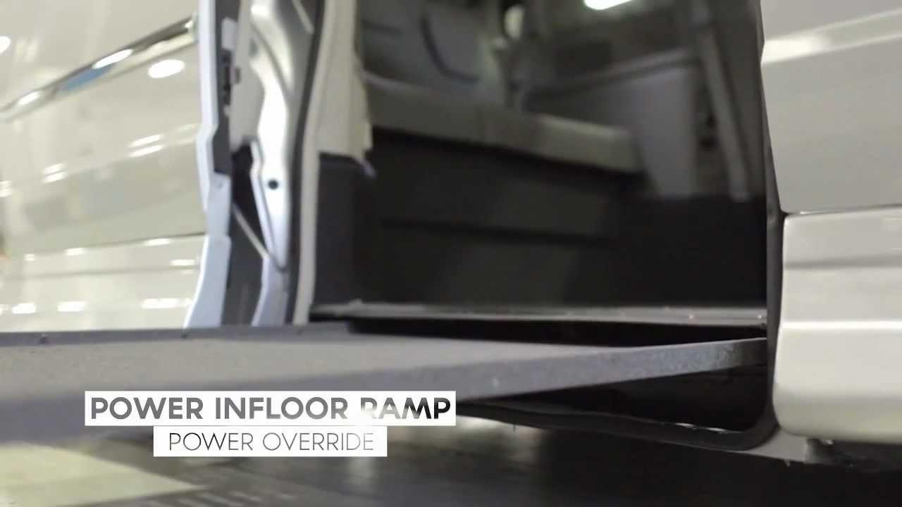wheelchair van ramp options youtube