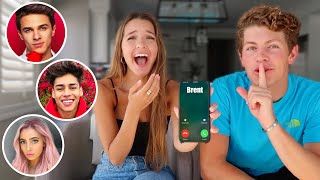BEN AND I PRANK CALL OUR FRIENDS!