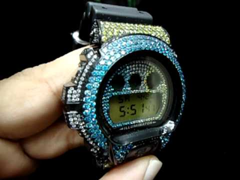 Mr Chris Da Jeweler Lab Diamond Custom Iced Out G Shock Watch By Casio