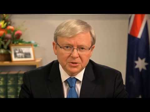 Prime Minister Kevin Rudd - Address to the Nation