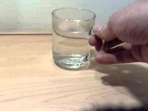 Gallium Spoon Mold The ol 39 Gallium Spoon in a Cup