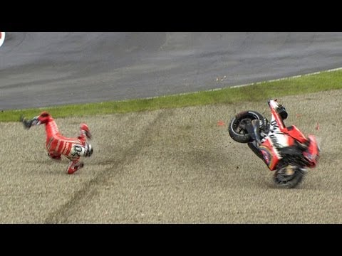 MotoGP™ Mugello 2013 — Best crashes
