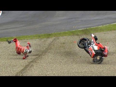 MotoGP™ Mugello 2013 -- Best crashes