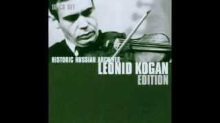 Leonid Kogan plays Vieuxtemps Concerto 5