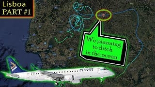 [REAL ATC] Air Astana has SERIOUS FLIGHT CONTROL ISSUES!