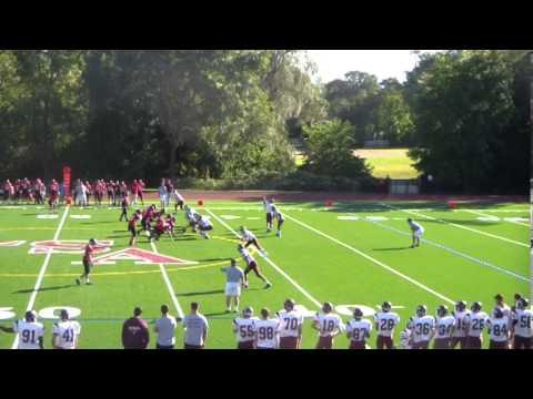 Jace Pena JV/Backup Varsity QB-Freshman Year @ La Salle Academy Providence, RI