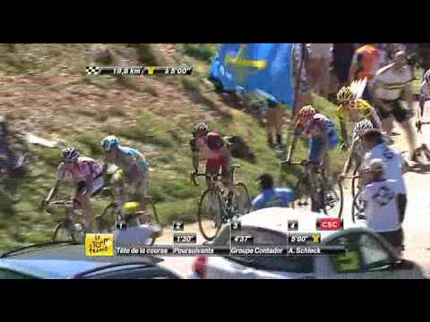 SBS Official -- Stage 15 Highlights 2010 Tour de France