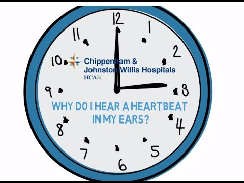 CJW Doc Minute: Why do I hear a heartbeat in my ears?