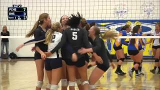 Rampart vs Pine Creek volleyball full broadcast