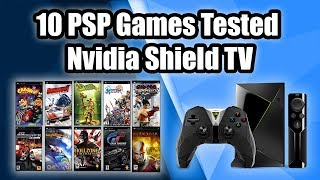 10 PSP Games Tested On the Nvidia Shield TV - PPSSPP