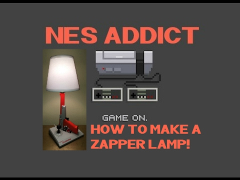 How to make an NES Zapper Lamp!