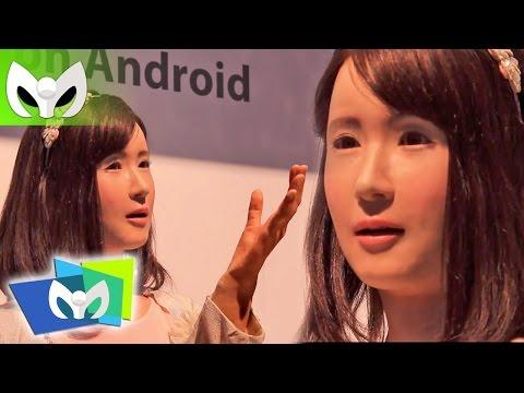 CHIHIRAAICO - Hermosa Robot canta y habla REAL #CES2015