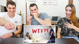 REACTING TO OUR OLD PRANKS!