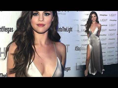 Selena Gomez Flashes Her Endless Hot Legs & Cleavage !! thumbnail