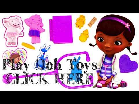 Play Doh Doc McStuffins Doctor Kit Playset Disney Junior Playdough Doctora Juguetes