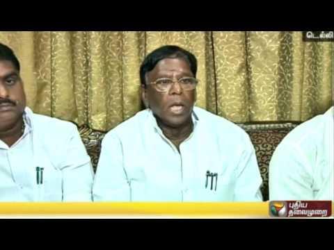 CM Narayanaswamy meets PM Modi to discuss Puducherry issue