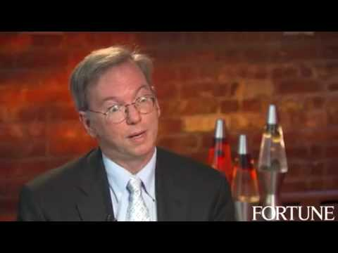 Google CEO, Eric Schmidt on Coaching