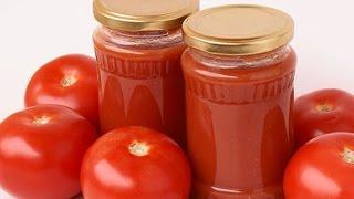 Загтовки на зиму. Домашний кетчуп из помидор, вкуснее магазинного