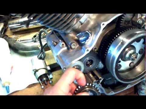 Yamaha Virago  Starter Clutch Problems