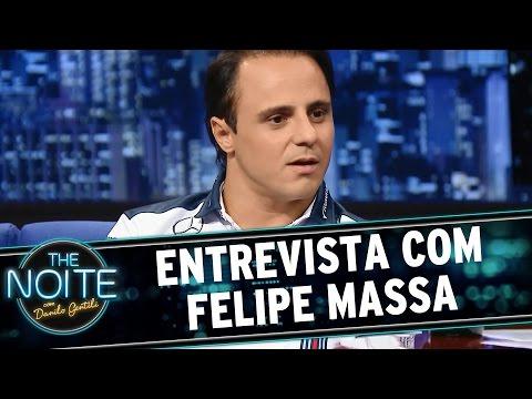 The Noite (12/08/15) - Entrevista com Felipe Massa