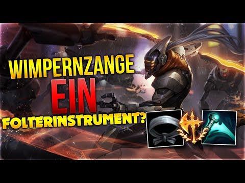 Wimpernzange ein Folterinstrument? Master Yi Midlane [League of Legends] [Deutsch / German]