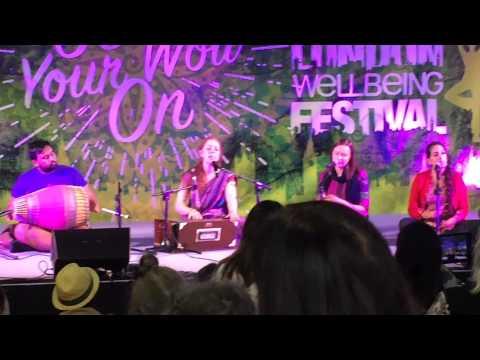 Kirtan London @ Wellbeing Festival London - May 2015