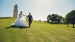 Fun, emotional wedding film {Tulsa wedding video}