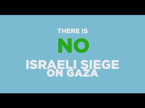 There Is No Israeli Siege On Gaza