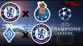UEFA CHAMPIONS LEAGUE - CHELSEA x FC PORTO / DYNAMO KIEV x CHELSEA