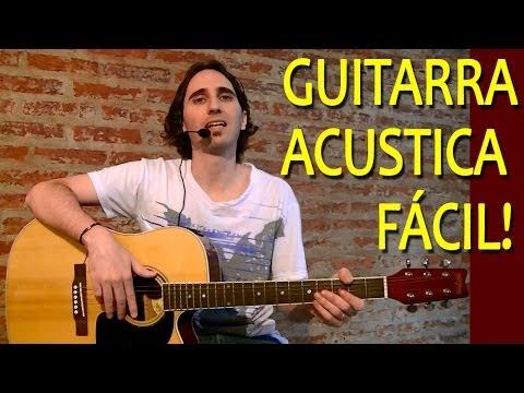 Como Aprender A Tocar Guitarra Acústica Para Principiantes / Ejercicios Faciles Mano Izquierda TCDG