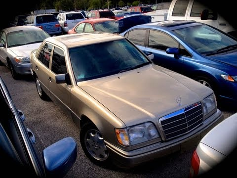 1995 Mercedes-Benz E320 W124 Start Up. Quick Tour. & Rev With Exhaust View - 69K