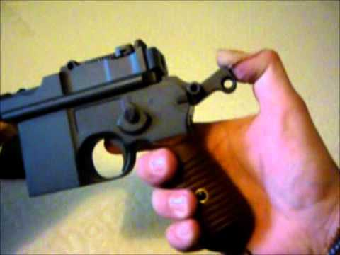 HFC C96 Mauser Airsoft Pistol Review