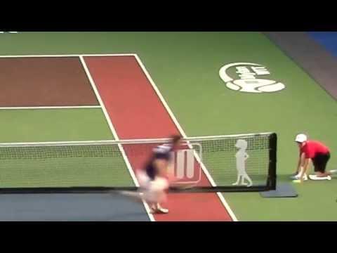 Sam Groth's Mylan WTT Forehand Around The Net
