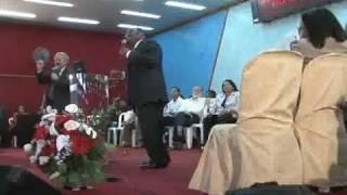 Petter Garrido Entrevista Dr Myles Munroe, Ministro nas Bahamas