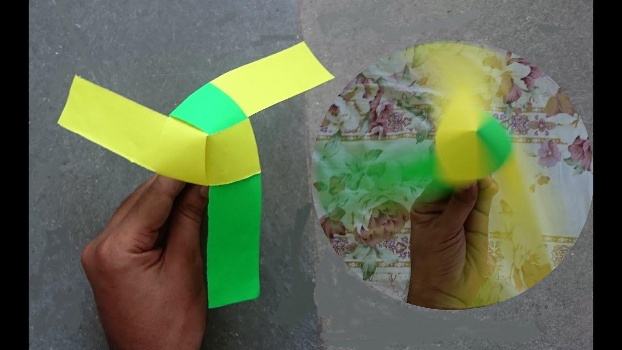 Как сделать из бумаги пружину