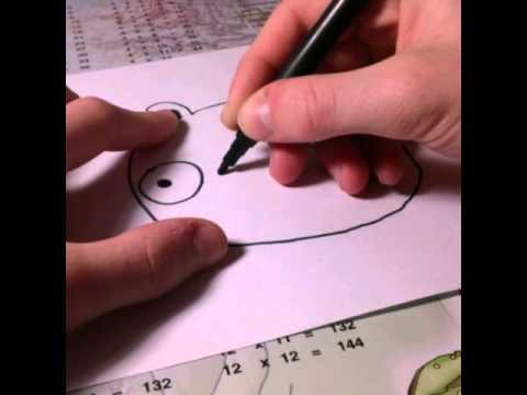 ¬идео как нарисовать «лых ѕтиц