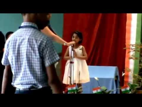 Ritu   De Di Hame Azadi   Sung In School   14 08 2014 video