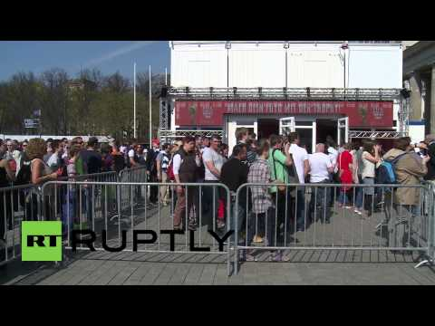 Germany: Football fever hits Berlin as World Cup trophy arrives