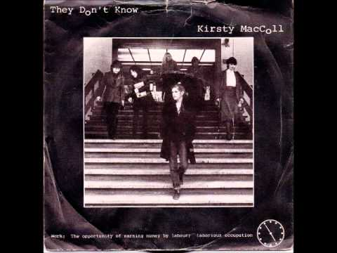 Kirsty MacColl - They Don't Know 1979